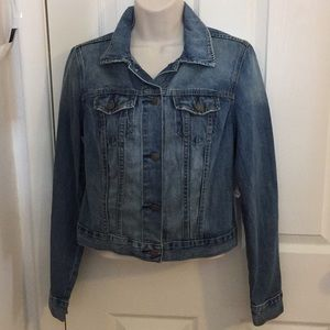🌼Old Navy Denim Cropped Jacket! Size S/Small!